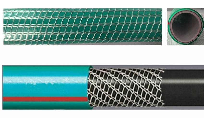 hose pvc with polyester thread