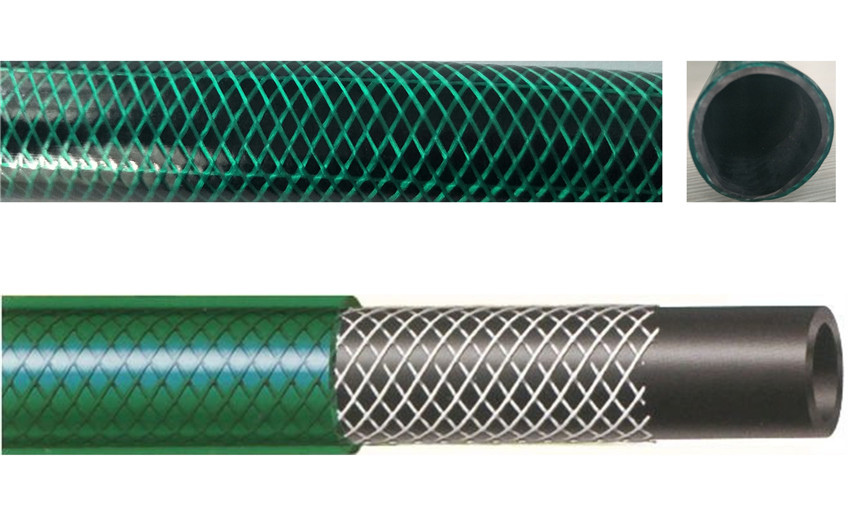 pvc green garden water hose